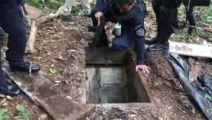 Encuentran túnel en Honduras de la pandilla MS-13