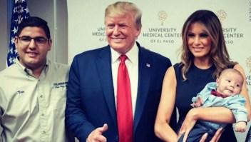 Melania Trump bebé huérfano El Paso tiroteo