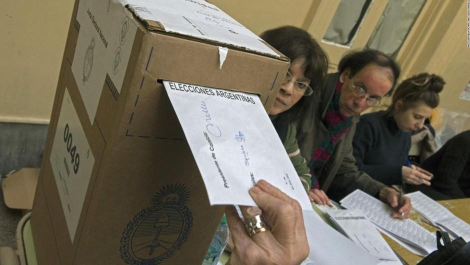 Cuenta regresiva para las elecciones PASO en Argentina