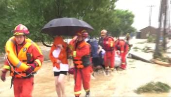 Tifón Lekima deja al menos 22 muertos en China
