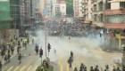 Enfrentamientos en Hong Kong dejan varios heridos