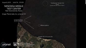 Explosión nuclear Rusia