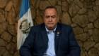 Giammattei asegura que su Gobierno tomará acciones contra la corrupción
