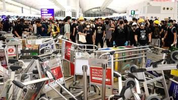 ¿Cuánto pierde China con la toma del aeropuerto?