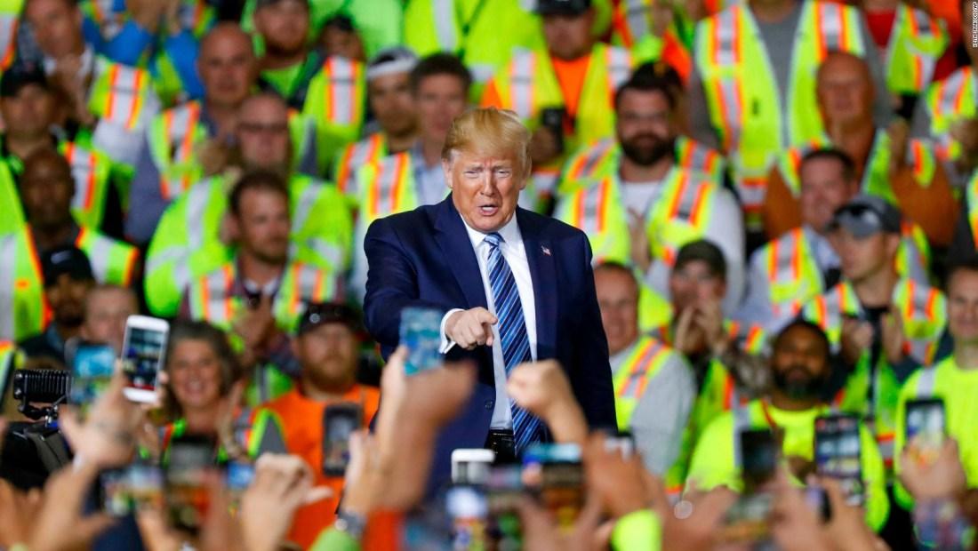 El costo económico de la presidencia, según Trump