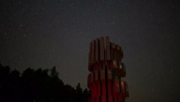 Mira esta espectacular lluvia de meteoritos