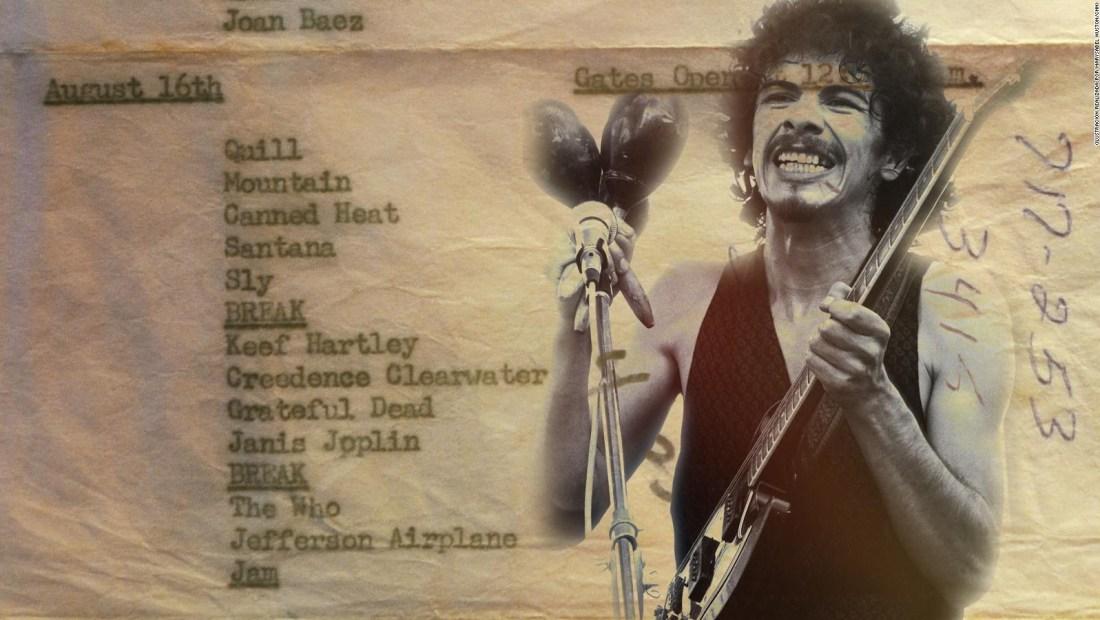 Carlos Santana recuerda cómo llegó a Woodstock