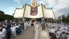 Iglesia de la Luz del Mundo realiza evento sin su líder