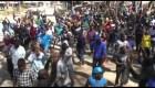 Policía contiene manifestación en Zimbabwe