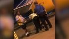 Detienen un hombre escondido en la bodega de un avión