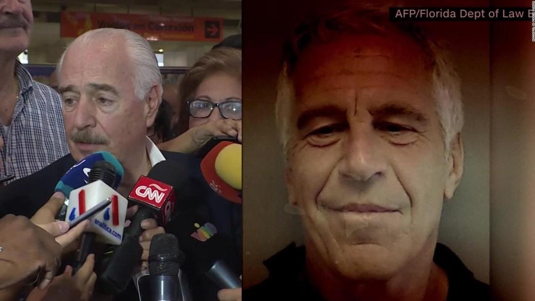 ¿Cuál es la relación entre Pastrana y Epstein?