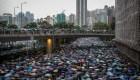 ¿Socavan las redes sociales las protestas en Hong Kong?