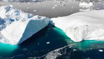 Fondo glaciar Groenlandia