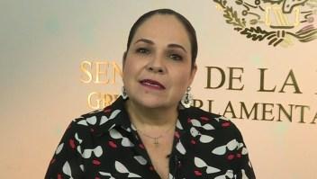 Presidenta del Senado habla de pelea entre Batres y Monreal