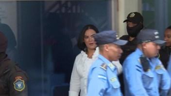 Declaran culpable a exprimera dama de Honduras