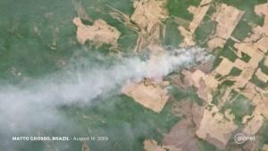 La Amazonia arde a una velocidad récord