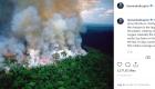 Algunas de las fotos más compartidas de los fuegos en la  Amazonía son viejas o ajenas