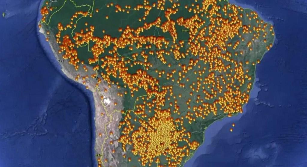 No hay lluvia en el pronóstico para la Amazonía