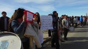 Trabajadores en Argentina protestan por su salario