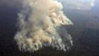 Las impactantes imágenes de los incendios en el Amazonas