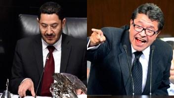 La controversia entre los senadores Batres y Monreal