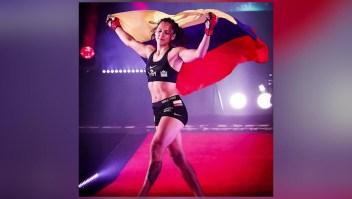 Alejandra Lara se refiere a la desigualdad salarial en las artes marciales mixtas