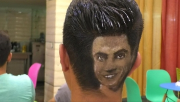 ¿Un corte de pelo con su jugador favorito? ¡No diga más!