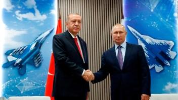 Erdogan y Putin se reúnen para hablar sobre Siria