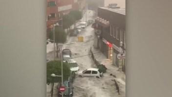 Fuertes lluvias y tormentas azotan Madrid
