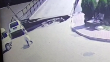 Colapso de un puente en Turquía queda grabado en video