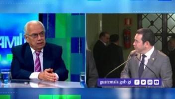 """Mario A. Sandoval: """"La Cicig era una vergüenza necesaria para Guatemala"""""""