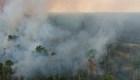 Humo del fuego en el Amazonas puede afectar la salud