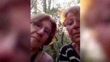 Dos ancianas, perdidas en la selva: mira su video viral