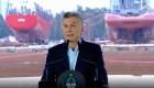 """Macri habló por primera vez de """"crisis económica"""""""