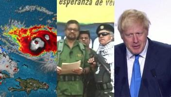 Dorian, disidencias de las FARC, el Amazonas y más