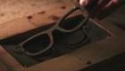 Gafas de sol hechas de café