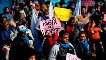 ¿Qué factores causan la crisis económica de Argentina?