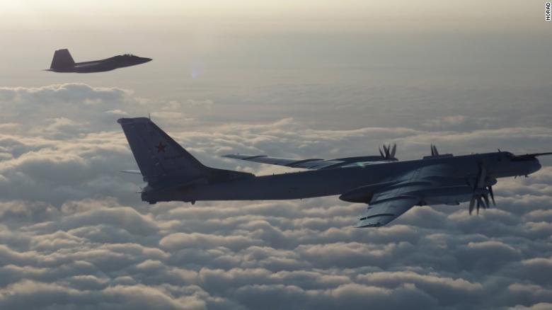 Aviones De Combate Estadounidenses Interceptan Bombarderos Rusos Cerca De Alaska Cnn