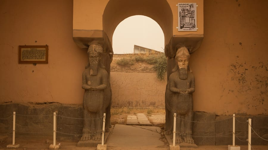 Nimrud Iraq turismo ciudades