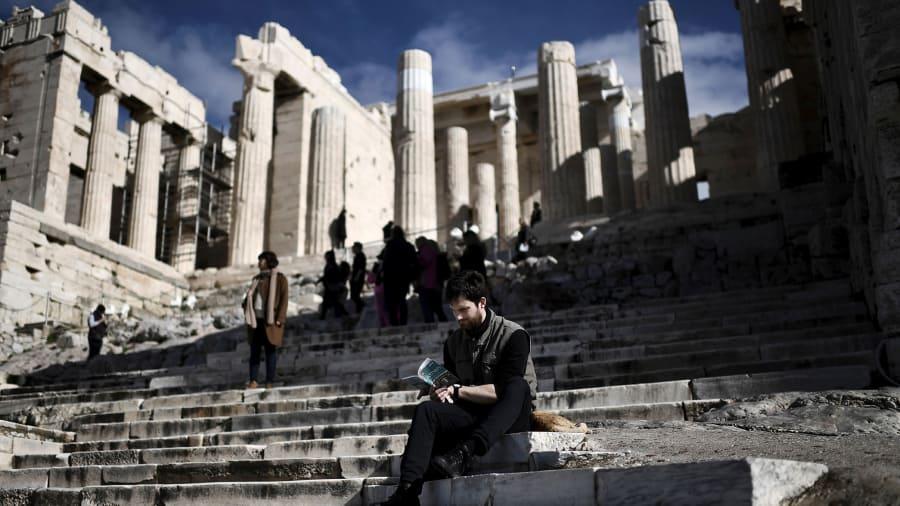 Atenas Grecia Partenón