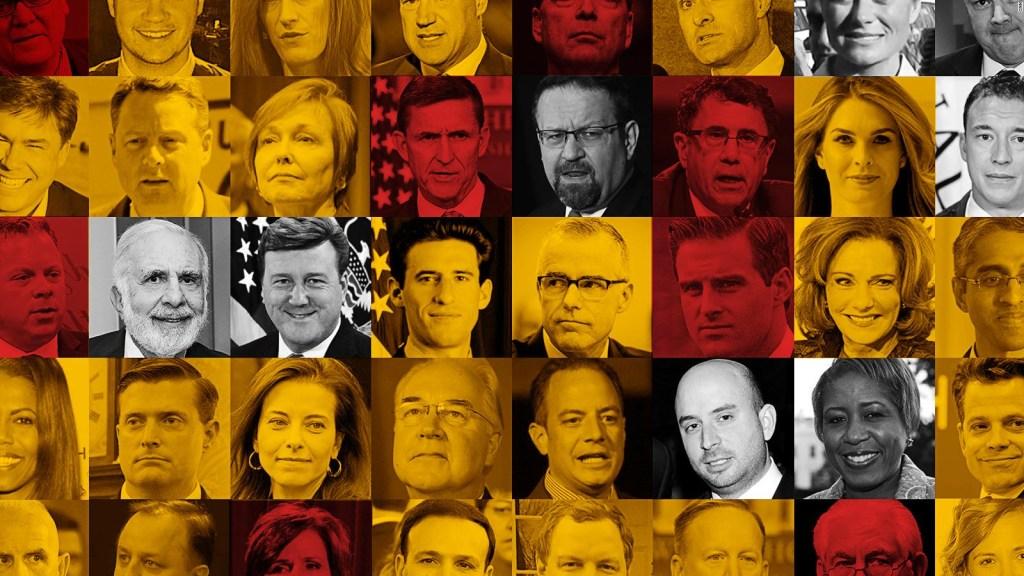 El gabinete de Trump, el más inestable de los últimos 25 años