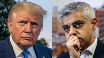 Insultos y críticas entre Donald Trump y Sadiq Kahn