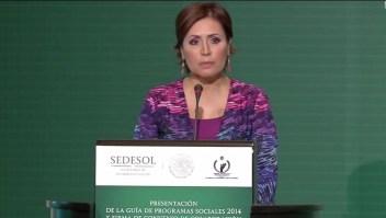 Rosario Robles no puede pagar a sus abogados
