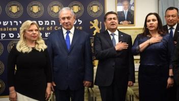 Apertura de oficina hondureña en Jerusalén