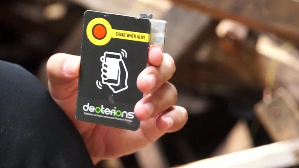 Dispositivo diseñado para salvar vidas