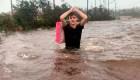 Las imágenes de rescates que dejó Dorian