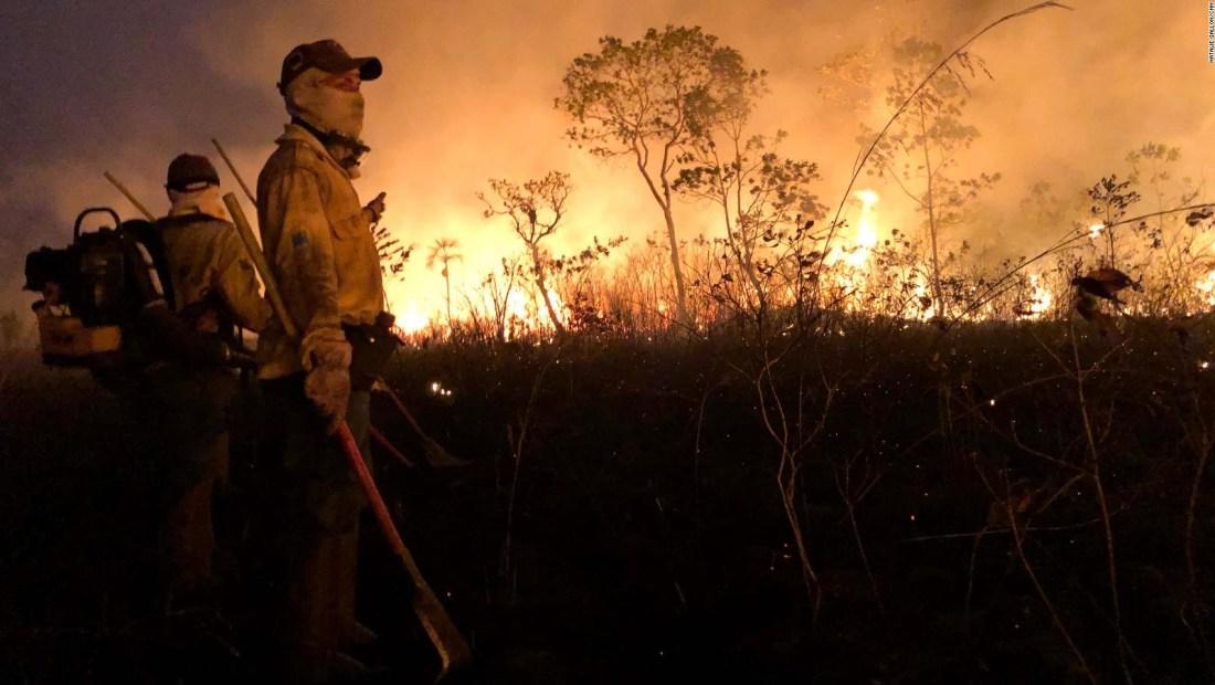 ¿Quién es responsable de los incendios en el Amazonas?