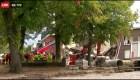 Rescatan a 2 sobrevivientes de explosión de edificios en Bélgica