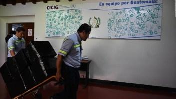La Cicig le dice adiós a Guatemala