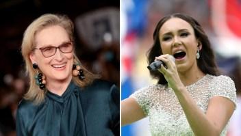 Esta soprano consiguió actuar junto a Meryl Streep